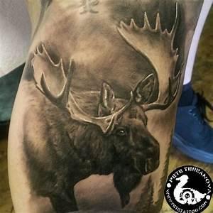 Bull Moose Tattoo | www.pixshark.com - Images Galleries ...