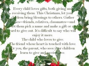 Christmas Giving Quotes Books Gift. QuotesGram