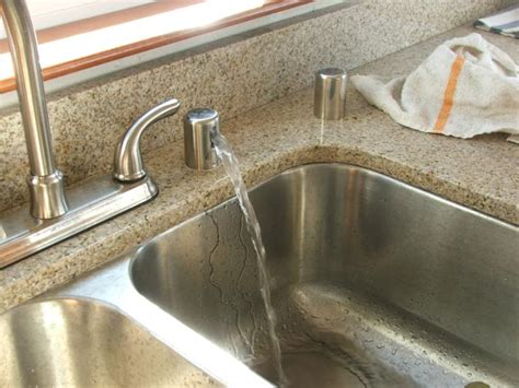 kitchen sink dishwasher vent would you like a waterfall in your kitchen 5705