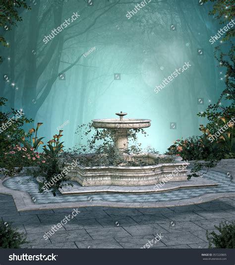 Romantic Enchanted Forest Stock Illustration 357220805