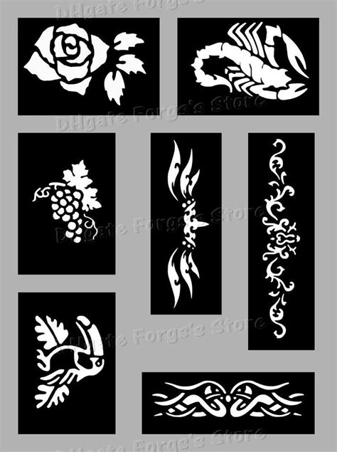 2020 200 Sheets Tattoo Stencils For Body Art Temporary