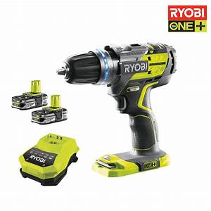 Perceuse Visseuse Percussion 18v : ryobi perceuse visseuse percussion brushless 18v ~ Edinachiropracticcenter.com Idées de Décoration