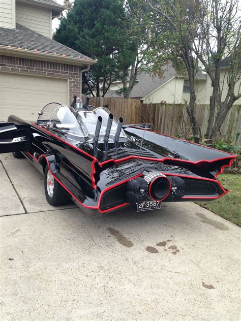 batmobile replica   years  build texan batman