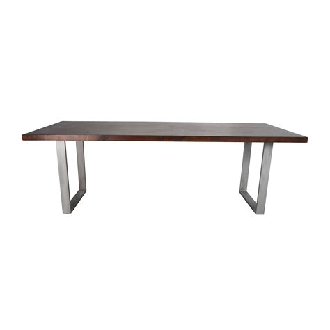 modern wood dining table 53 off modern solid wood dining table tables