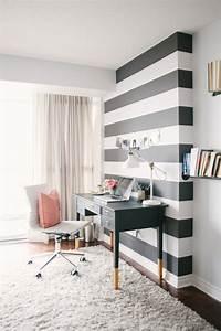 Papier Peint Rayé Noir Et Blanc : papier peint 3d leroy merlin ~ Preciouscoupons.com Idées de Décoration