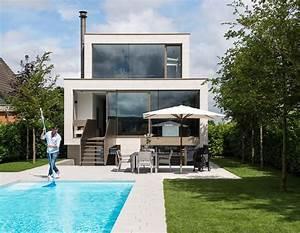 garten mit pool bild 7 schoner wohnen With französischer balkon mit pool haus garten