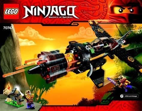 Bauanleitungen LEGO - NINJAGO - 70747 - Cole's Felsenbrecher