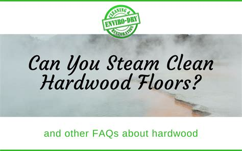 can you use a steam cleaner on hardwood floors carpet cleaning and restoration blog enviro dry carpet cleaning