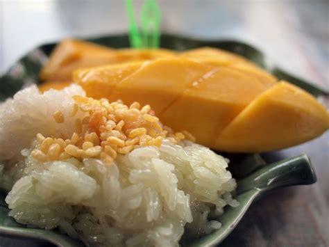 Thai Mango Sticky Rice (khao Niaow Ma Muang) Recipe