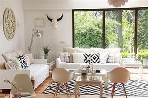 Salon Design Scandinave : notre salon scandinave mona j c t maison ~ Preciouscoupons.com Idées de Décoration