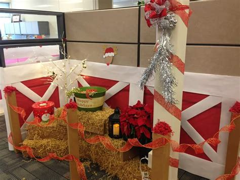fun office christmas decorations  spread  festive