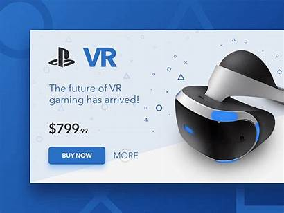 Vr Playstation Card Dribbble Games Headset
