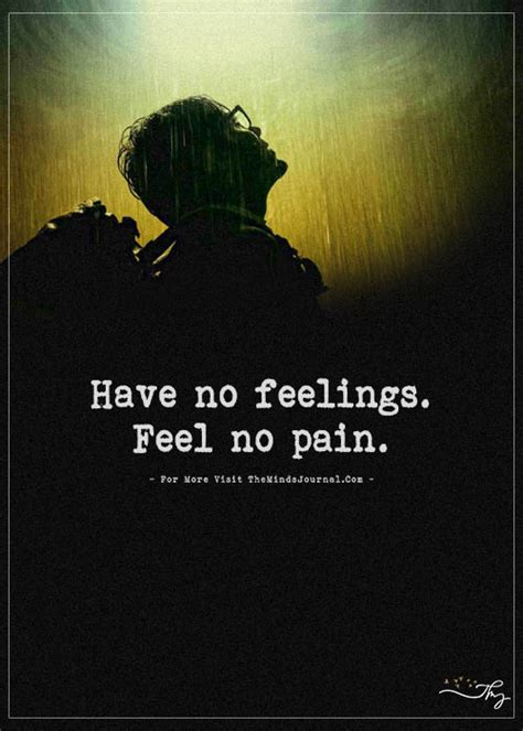 No Feelings by No Feelings Feel No