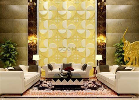Textured Tiles 3d Wall Panels Plant Fiber Materialset Of