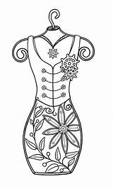 Coloring Stamps Steampunk Digi Adult Printable Colouring Corset Template Bearywishes Doodle Patterns Craft Patrol Sheets Preston Stencils Embroidery Stamp Quilling sketch template