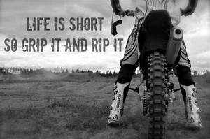 Life is short, ... Good Short Rip Quotes