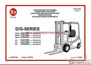 Free Auto Repair Manual   Cesab Forklift Spare Parts Catalog Cd