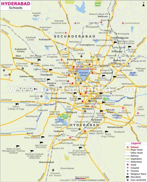 hyderabad metro map holidaymapqcom