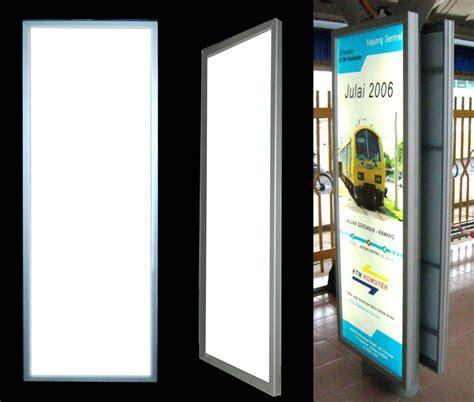 moonbright advertising slim thin light box light panel
