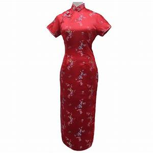 robe chinoise longue rouge With robe chinoise rouge