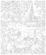 Coloring Nun sketch template