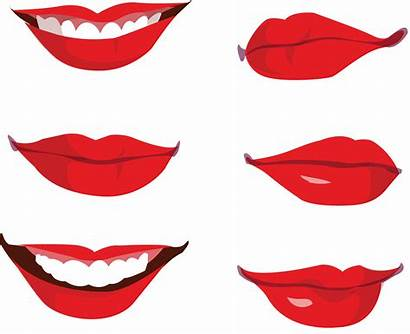 Mouth Lips Clipart Smile Lip Cartoon Clip