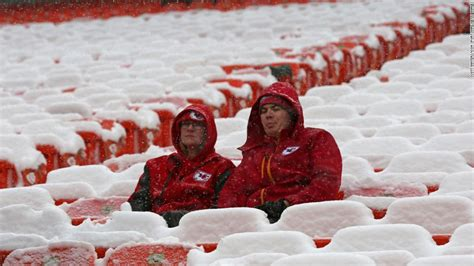 Winter storms are snow problem for Kansas City Chiefs fans