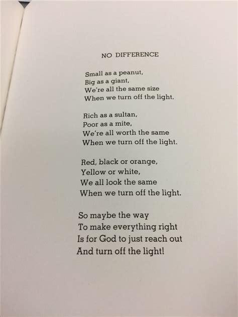 difference poem   sidewalk ends atolipauu