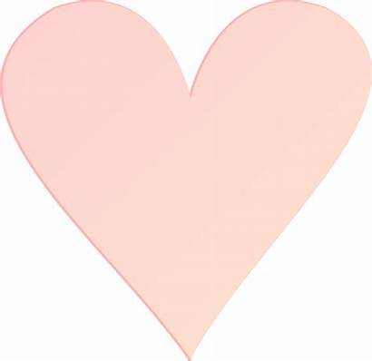 Heart Pink Clipart Coral Clip Transparent Background