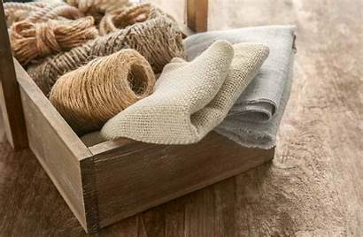 Hemp Fabric Fabrics Sustainable Natural String Than
