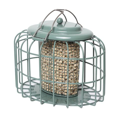 the nuttery feedsafe squirrel proof oval nut feeder the