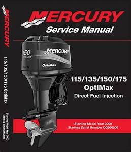 Mercury 115 135 150 175 Hp Optimax Dfi Service Manual 2000