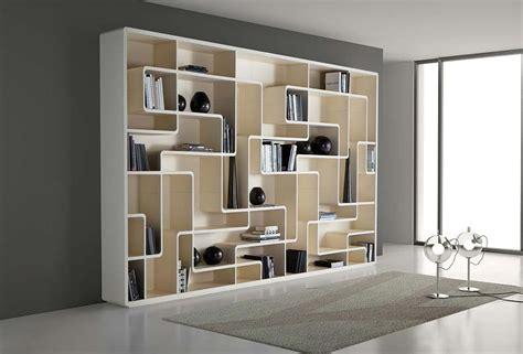 contemporary bookcase oak snake  giuseppe bavuso bross