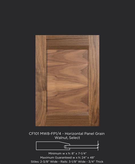 Cf101 Mw8fp14 Walnut, Select Horizontal Grain