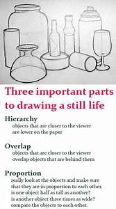 HOP in drawing a still life. lesson plan for bottle ...