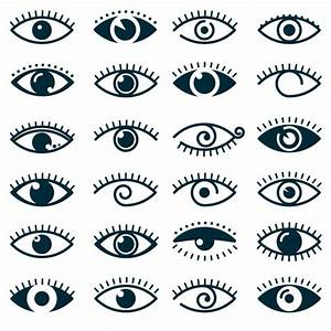 Eye Outline Vectors, Photos and PSD files   Free Download