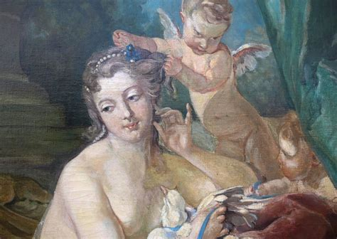 the toilet of venus boucher 19th century painting quot the toilette of venus quot after francois boucher for sale at 1stdibs