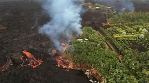 4 pm Eruption Update – North Flow Margin Oozing Lava Near ...