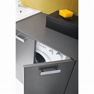 Waschmaschinenschrank für Badmöbel der Serie Atlantic
