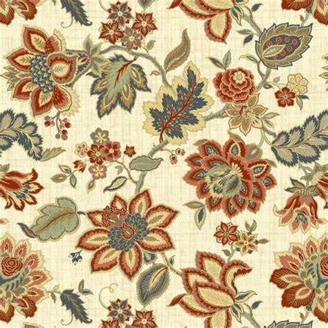 Jacobean Floral Fabric   Dunelm   curtains boat