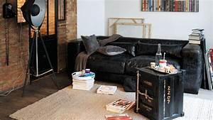 Table Salon Industriel : une d co de style industriel dans le salon ~ Teatrodelosmanantiales.com Idées de Décoration