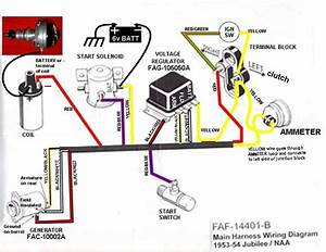 53 Ford Jubilee Wiring Diagram - Ford Forum