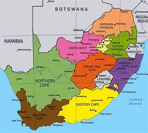 cuisine afrique du sud carte afrique du sud tourisme
