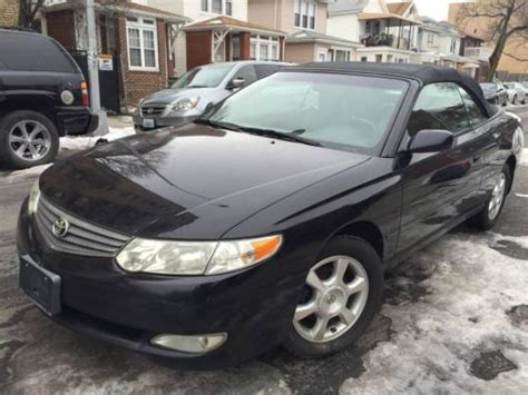 Toyota Solara Convertible For Sale by 2002 Toyota Solara Convertible For Sale One Owner Only