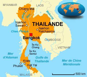 Thailande Carte Geographique Monde by Un Peu Plus 224 L Ouest Julien Se Tha 239