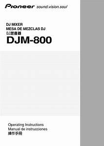 Djm-800 Manuals
