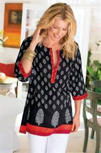 Block Print Tunic Soft Surroundings