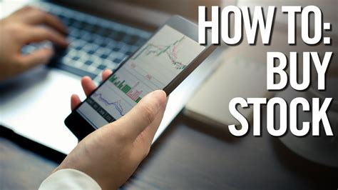 buy stocks stock market trading investing