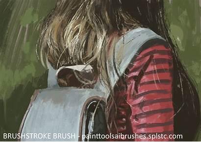 Sai Brushes Painttool Brush Settings Paint Brushstroke