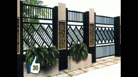 pagar besi rumah minimalis lengka  diminati
